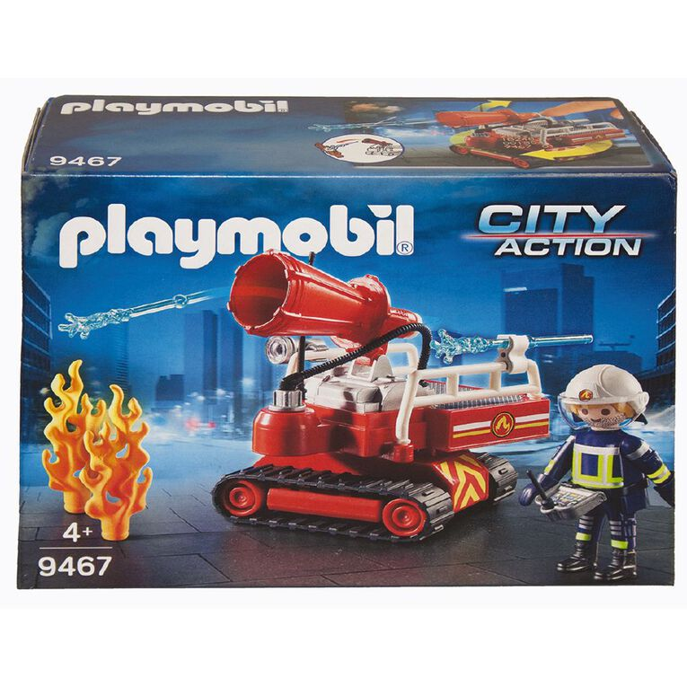 Playmobil Fire Water Cannon, , hi-res
