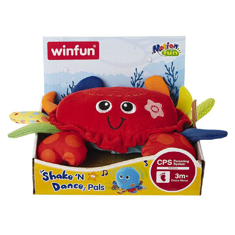 Winfun Shake & Dance Pals- Crab, , hi-res