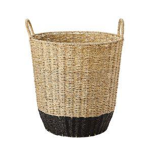 Living & Co Coloured Seagrass Basket Multi-Coloured