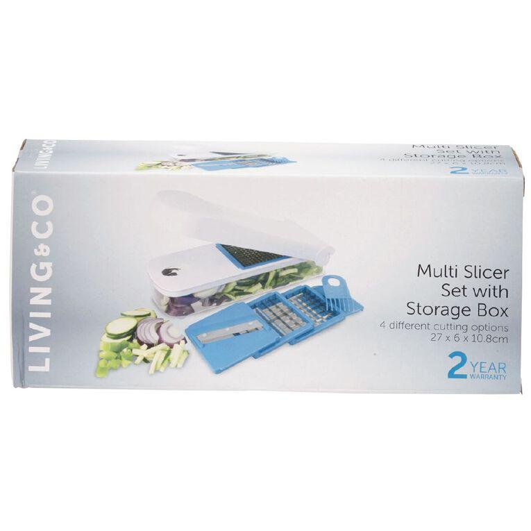 Living & Co Multi Slicer with Storage Box, , hi-res