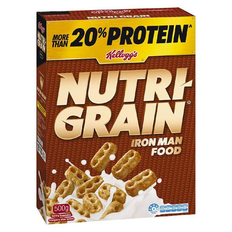 Kelloggs Nutri Grain Cereal 500g, , hi-res