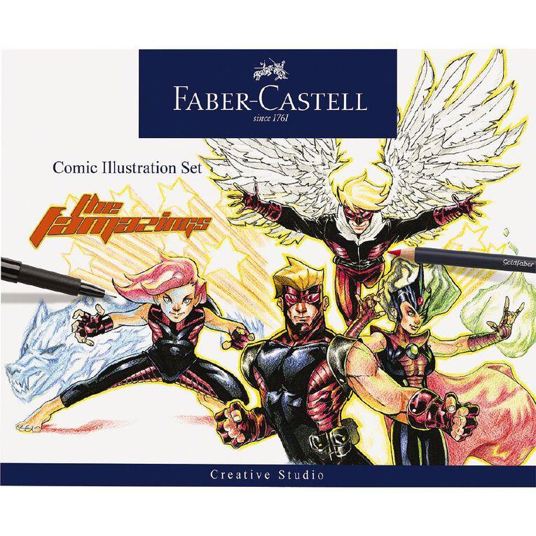Faber-Castell Comic Illustration Set, , hi-res