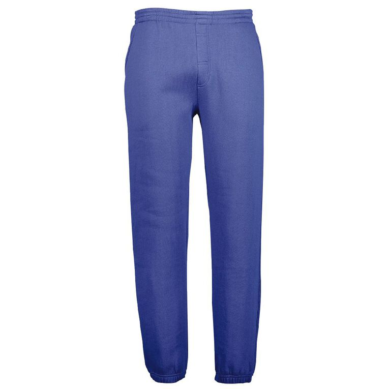 Schooltex Adults' Trackpants, Royal, hi-res