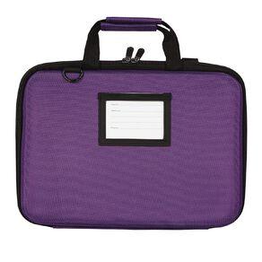 Tech.Inc 14.1 inch Hard-Shell Notebook Case Purple Purple