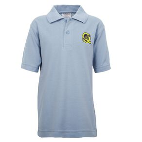 Schooltex Queenspark Short Sleeve Polo with Transfer