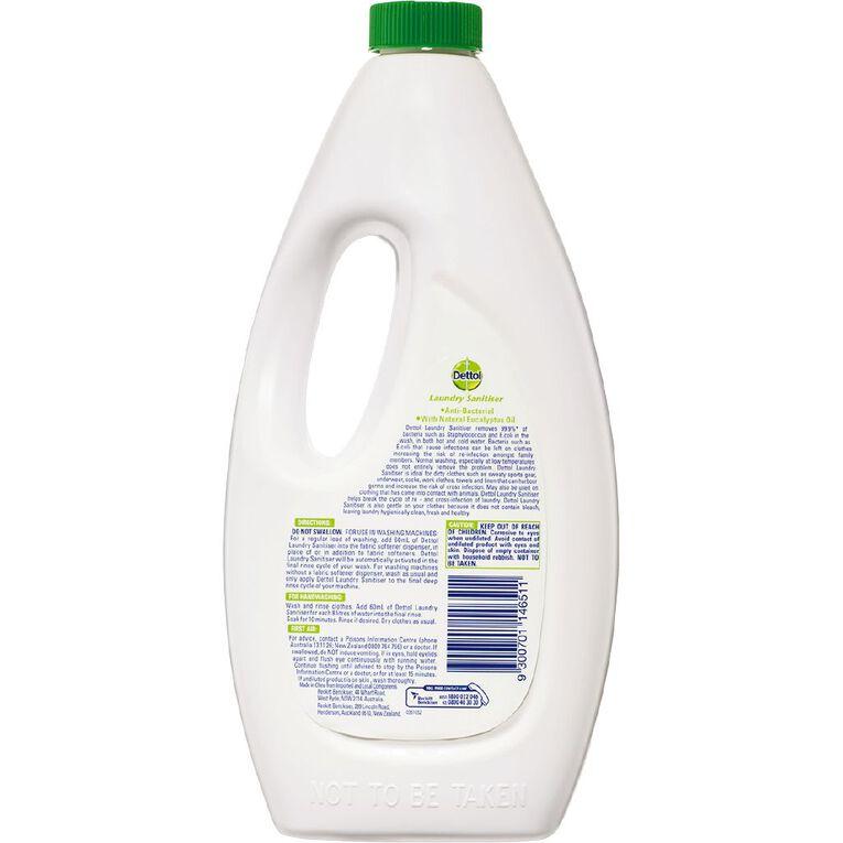 Dettol Antibacterial Laundry Sanitiser Natural Eucalyptus 1.25L, , hi-res image number null