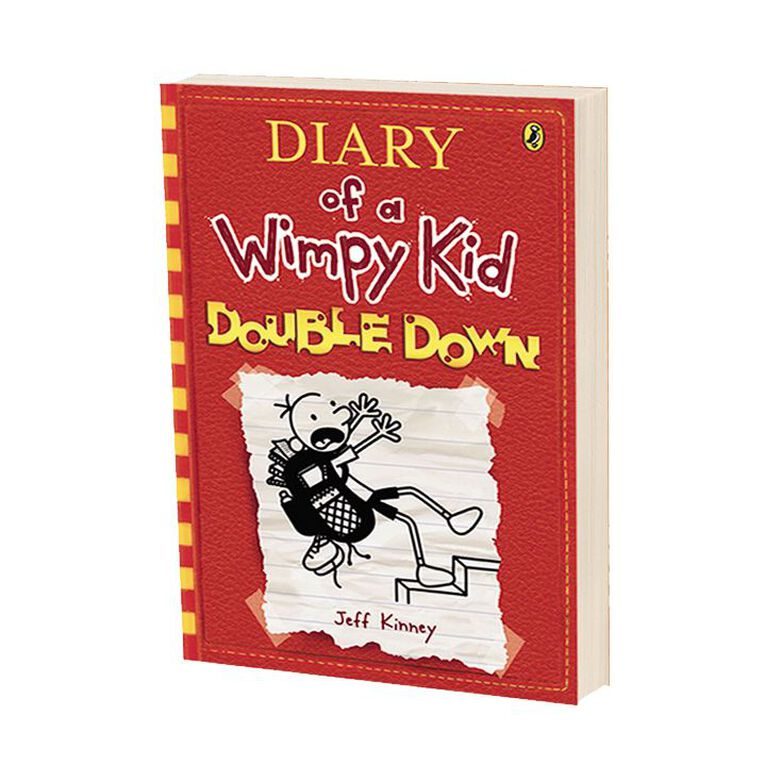 Diary of a Wimpy Kid #11 Double Down by Jeff Kinney, , hi-res image number null