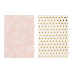 Uniti Kiwi Breeze Notebook 2 Pack White A6