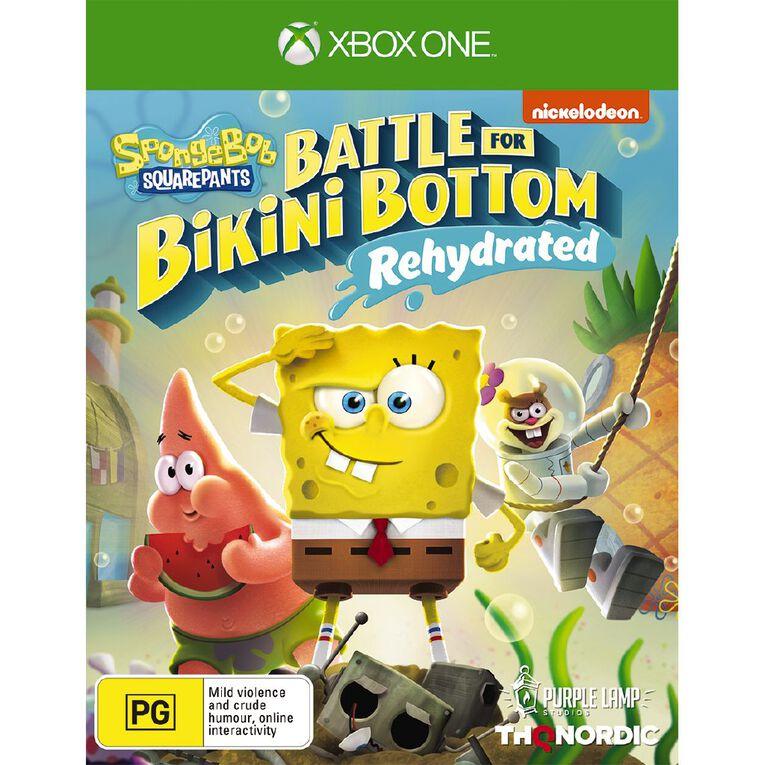 XboxOne Spongebob Battle For Bikini Bottom Rehydrated, , hi-res