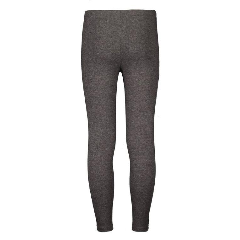 Young Original Plain Leggings, Grey Dark, hi-res