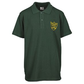Schooltex Cosgrove School New Short Sleeve Polo with Embroidery