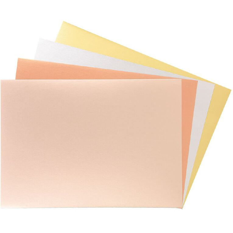 Uniti Value Cardstock Satin 250gsm 12 Pack A4, , hi-res