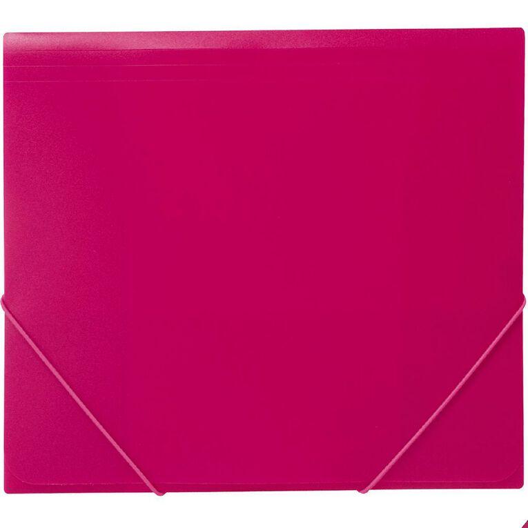 WS Wallet PP Elastic Pink A4, , hi-res