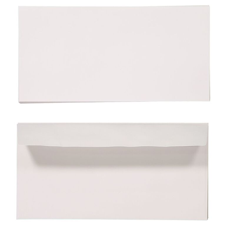 Create With DL Envelope 25 Pack White, , hi-res