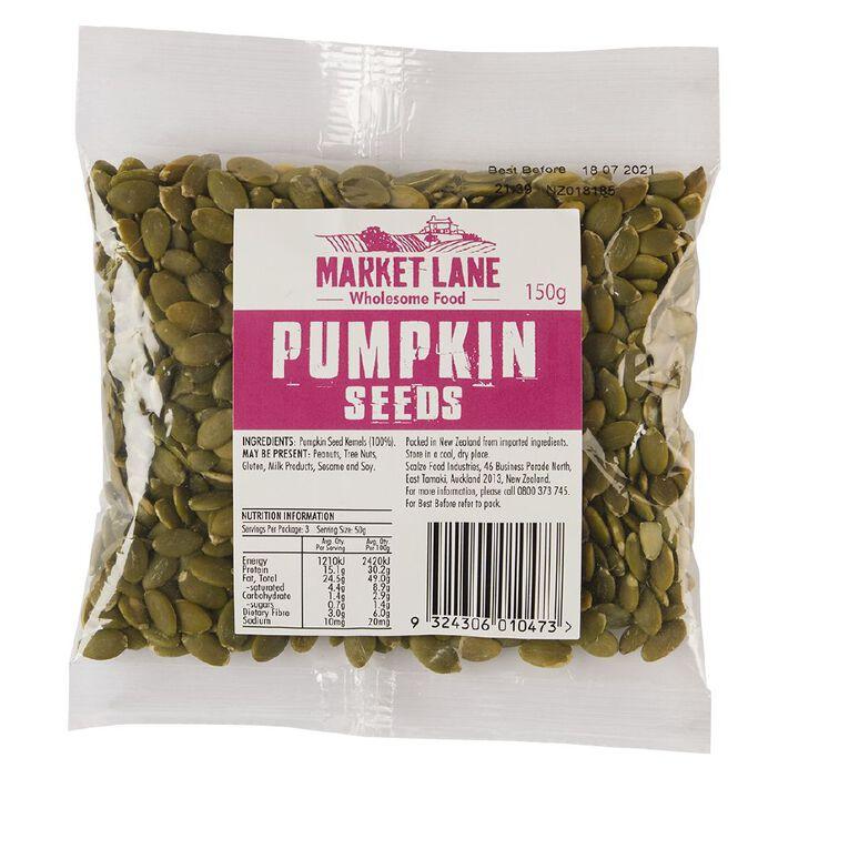 Market Lane Pumpkin Seeds 150g, , hi-res
