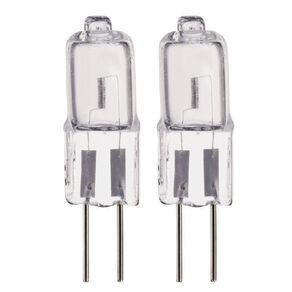 Edapt Halogen G4 Bi-Pin Light Bulb 12V Clear 20w Clear 2 Pack