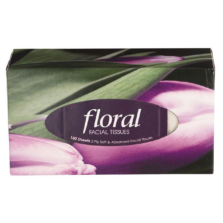 Floral Floral Facial Tissue 150 Sheets x 2 Ply, , hi-res