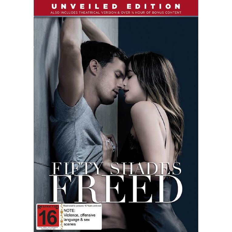 Fifty Shades Freed DVD 1Disc, , hi-res