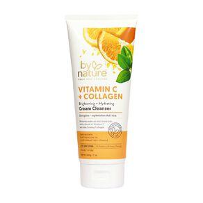 By Nature Vitamin C and Tumeric Collagen Cream Cleanser 200g
