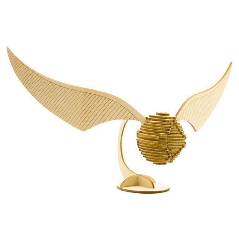 Harry Potter Incredibuilds Golden Snitch 3D Wooden Model, , hi-res