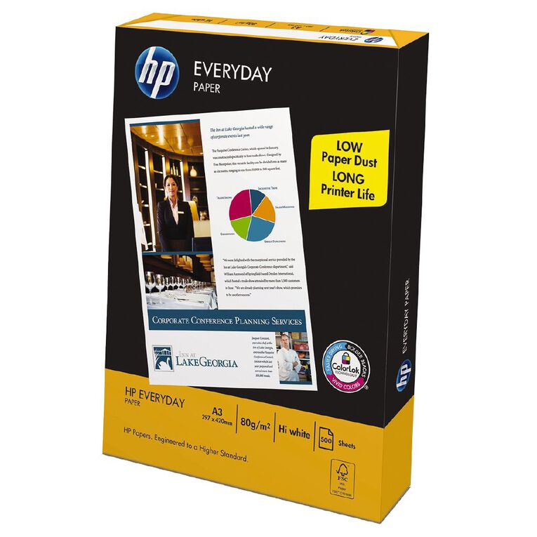 HP Everyday 80gsm 500 Sheet Pack A3, , hi-res