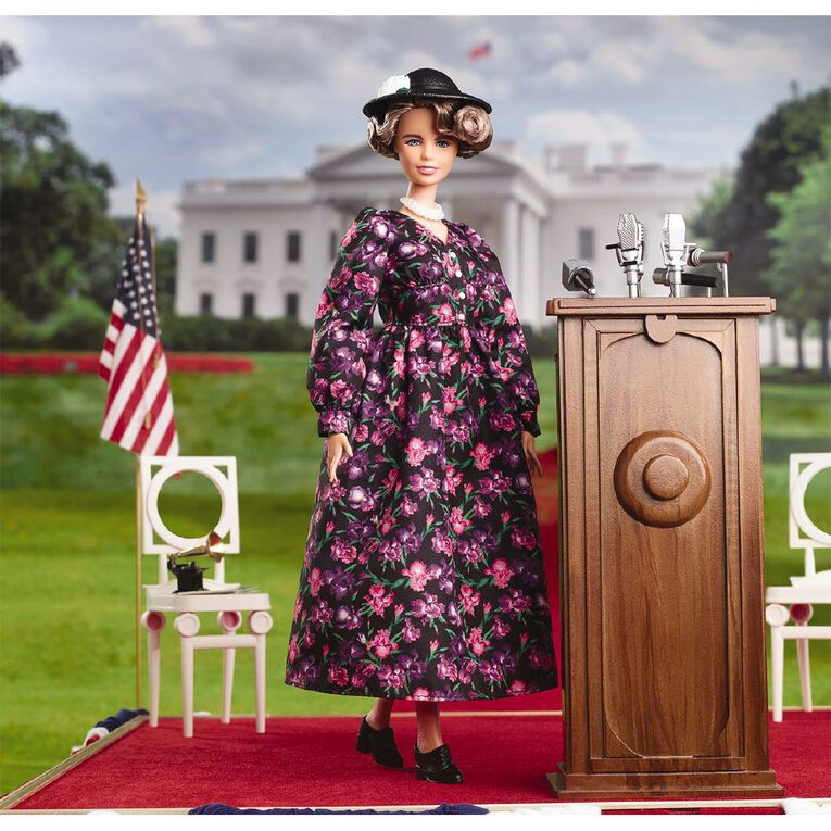 Barbie Collector Inspiring Women - Eleanor Rossevelt, , hi-res