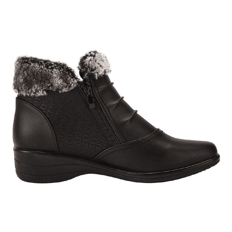 H&H Camilia Boots, Black, hi-res
