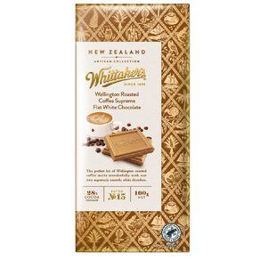 Whittaker's Artisan Coffee Supreme Flat White Chocolate 100g