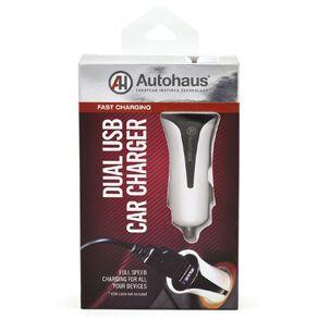 Autohaus 2.4 Amp Dual Port USB Car Charger