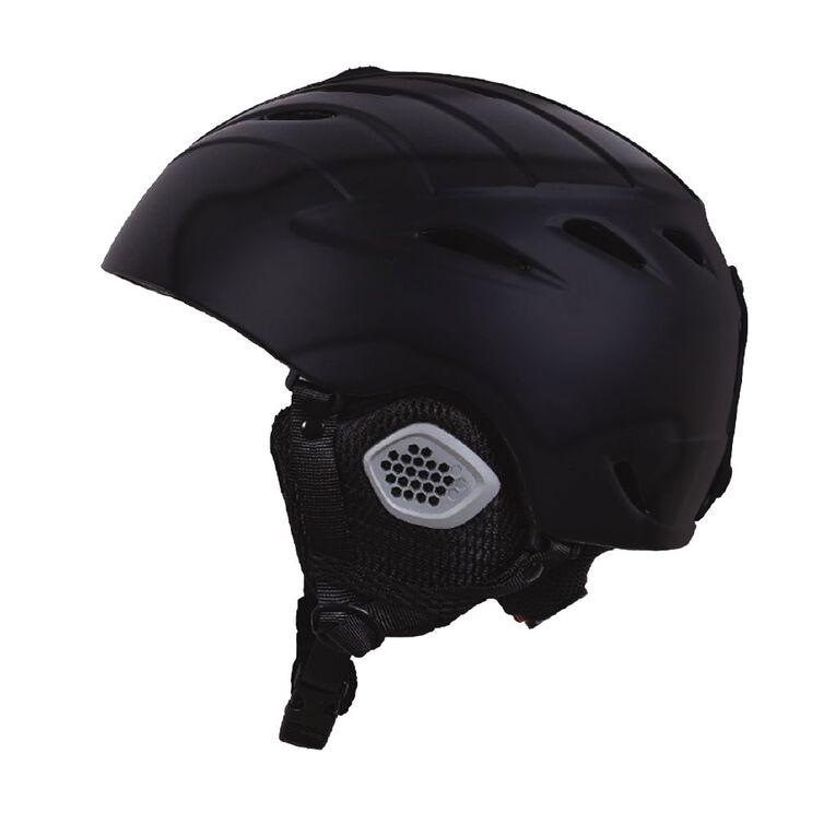 Active Intent Sports Snow Helmet Black Medium, , hi-res