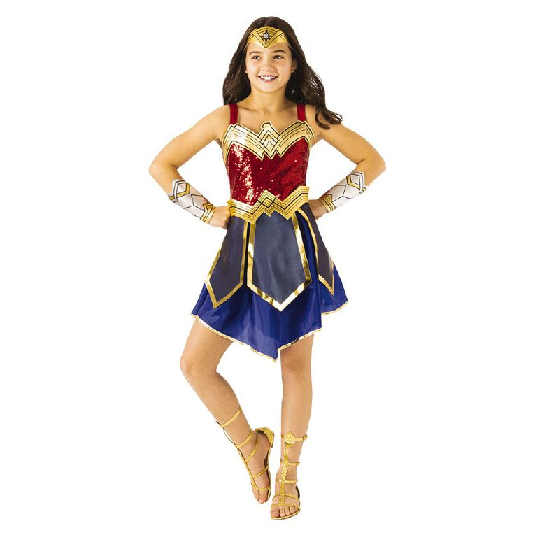 Wonder Woman Warner Bros 1984 Premium Costume 6-8 Years, , hi-res