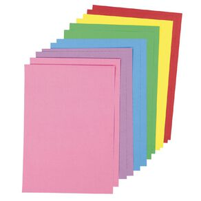 Uniti Value Cardstock 220GSM Brights 12 Pack A3