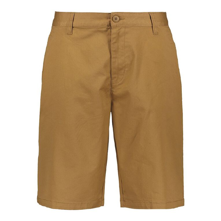 H&H Classic Chino Shorts, Tan, hi-res image number null