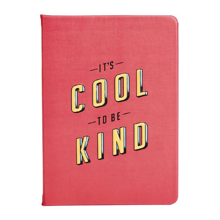 Uniti Fun & Funky Notebook PU Kind Pink A5, , hi-res