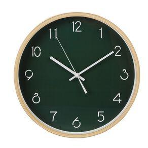 Living & Co Oscar Clock Green 40cm
