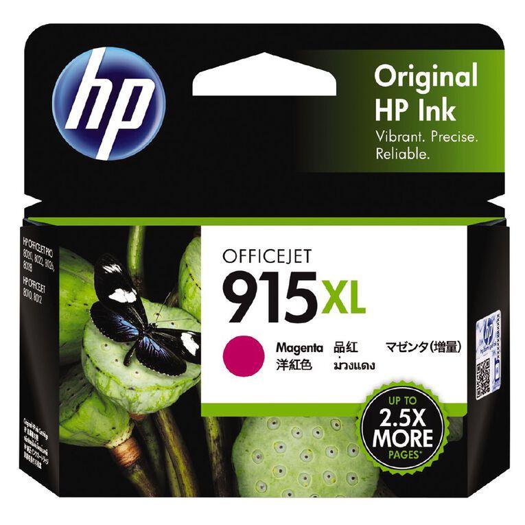 HP Ink 915XL Magenta (825 Pages), , hi-res