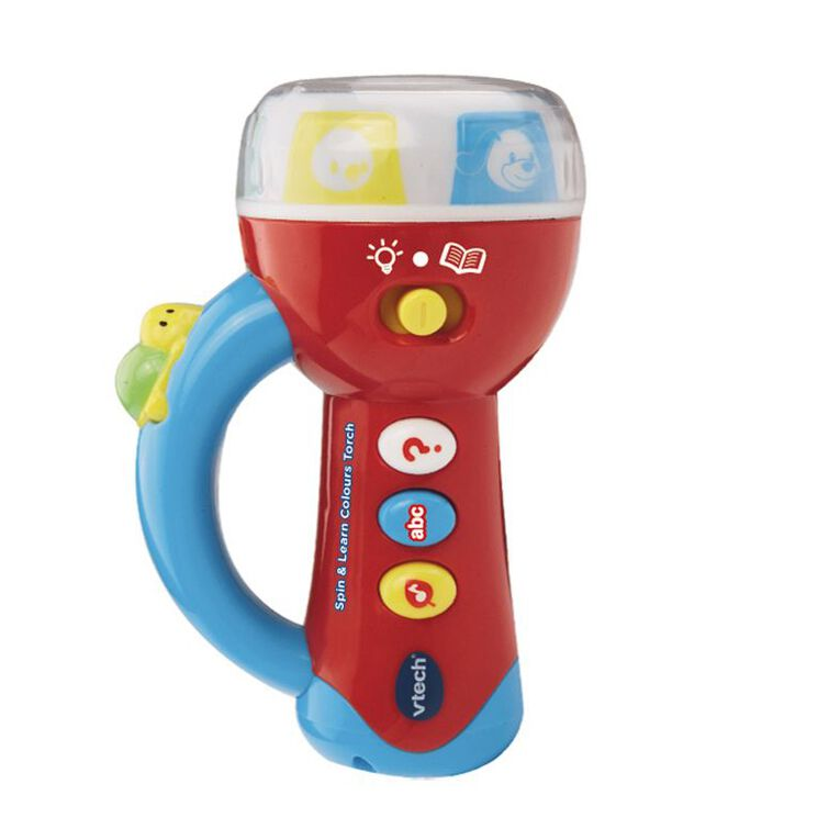 Vtech Spin N Learn Colours Torch, , hi-res