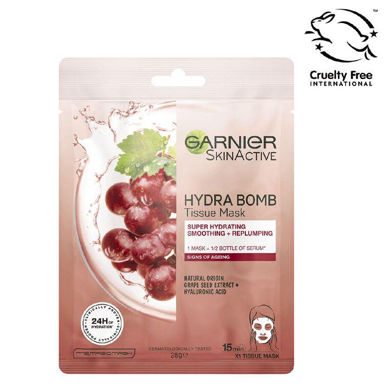 Garnier Hydrabomb Tissue Mask Anti Aging, , hi-res