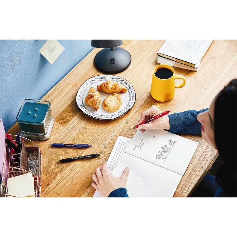 Paper Mate Profile Retractable 0.7mm Gel Pen Business Assorted 4 Pack, , hi-res