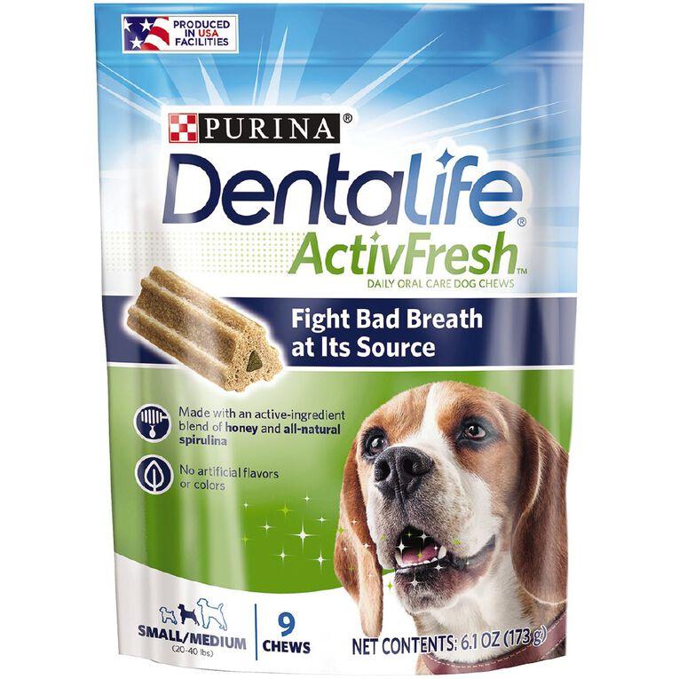Purina Dentalife Activefresh Small/Medium Dog Treats 173g, , hi-res