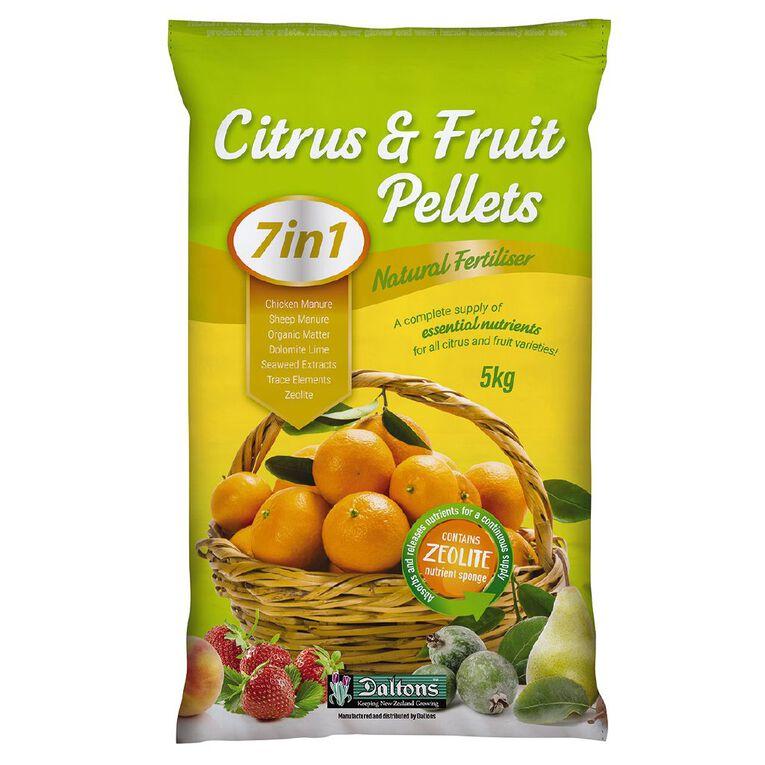 Daltons 7-in-1 Citrus & Fertiliser Pellets 5kg, , hi-res