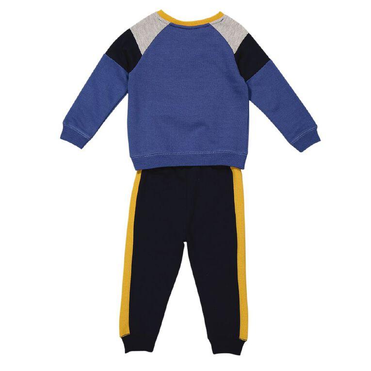 Young Original Toddler Tracksuit Set, Blue Dark, hi-res