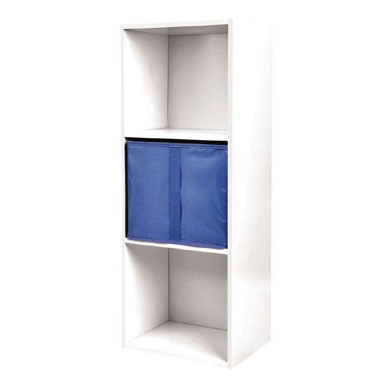 Living & Co Mia Bookcase Storage Insert Blue, , hi-res