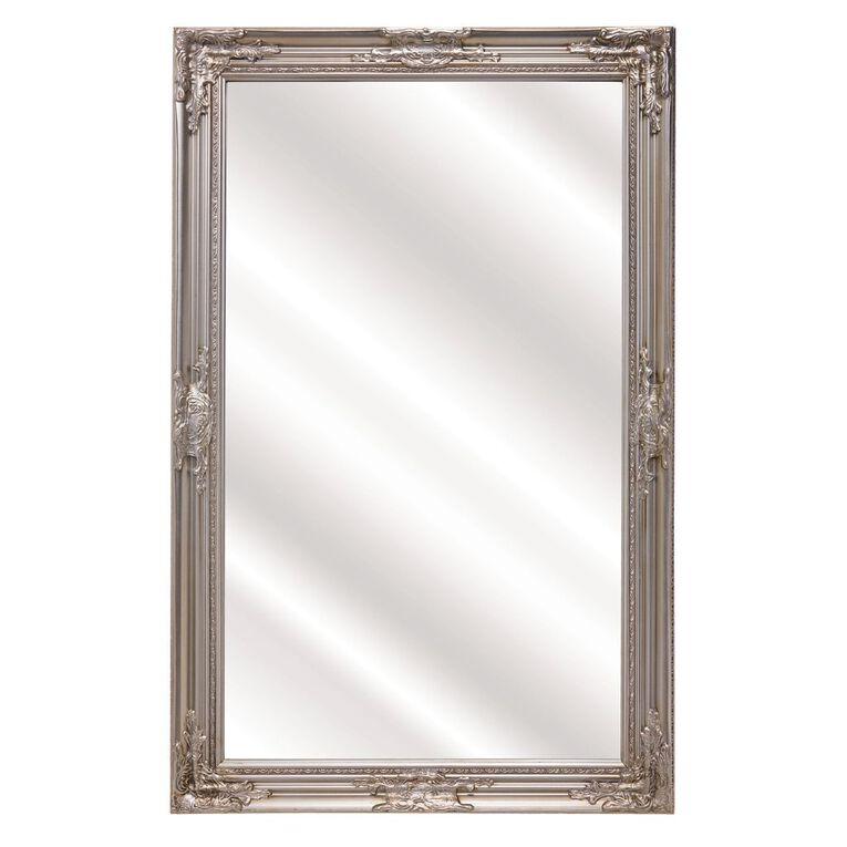 Living & Co Mirror Wall Carlisle 114 x 74cm Silver, , hi-res