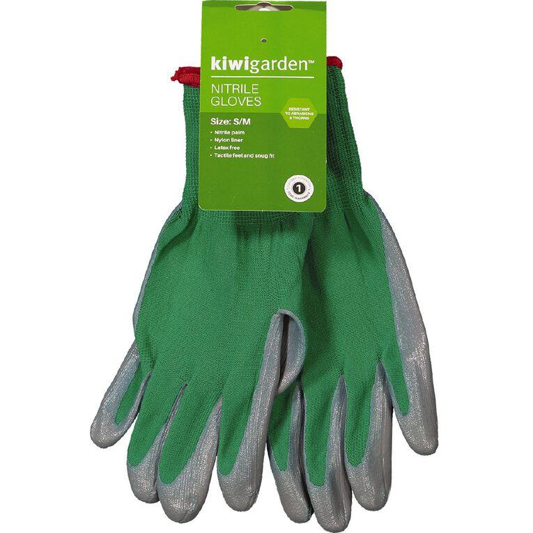 Kiwi Garden Nitrile Gloves S-M, , hi-res