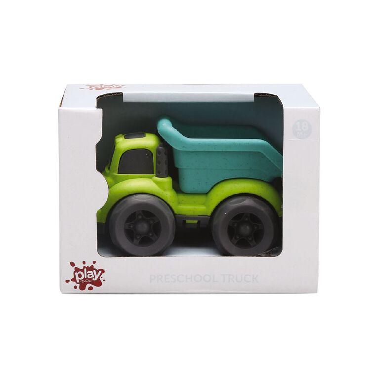 Play Studio Preschool Green Dump Truck, , hi-res