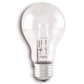 Edapt Halogen Classic Bulb E27 Clear 100w  Warm White 6 Pack