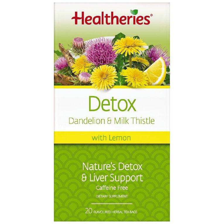 Healtheries Detox 20s Tea, , hi-res
