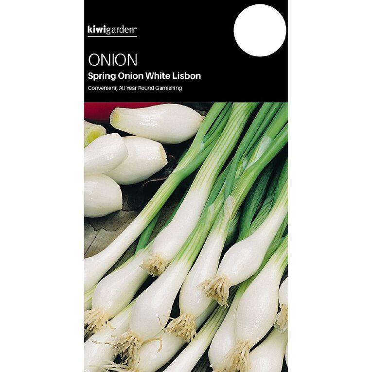Kiwi Garden Spring Onion White Lisbon, , hi-res