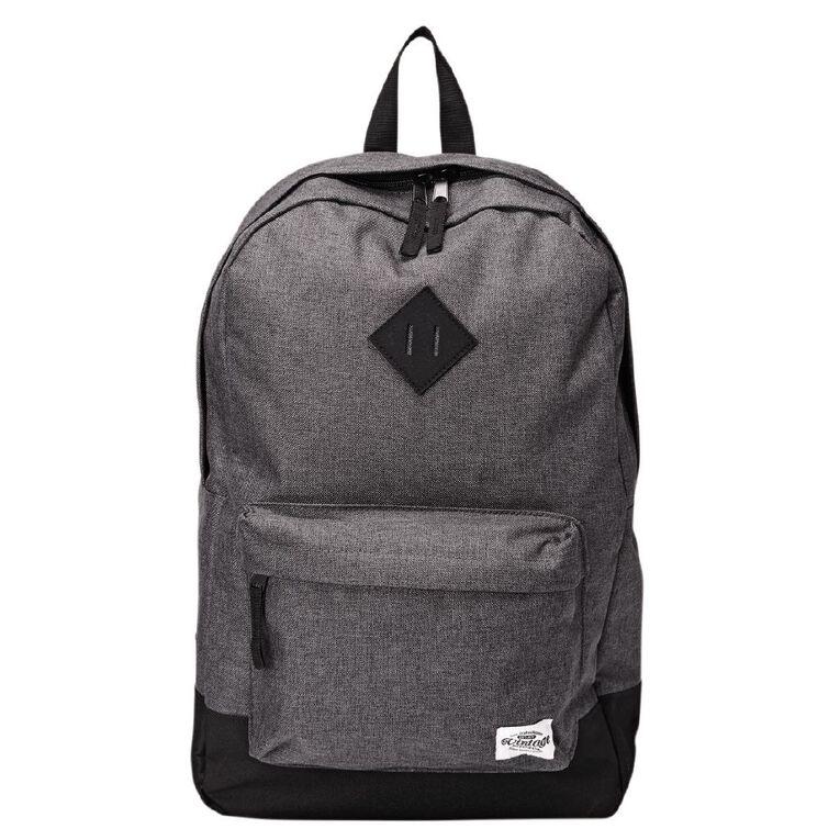 H&H Vintage Backpack, Charcoal/Marle, hi-res